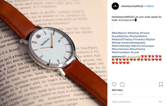 Instagram Captions for your eCommerce Photos