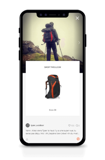 Osprey Mobile Widget
